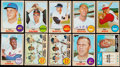 Baseball Cards:Lots, 1968 Topps Baseball Collection (365) With Stars & HoFers....