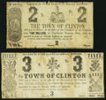 Obsoletes By State:Louisiana, Clinton, LA- Town of Clinton $2; $3 June 21, 1862. ... (Total: 2 notes)