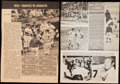Autographs:Photos, Mickey Mantle Signed Magazine Page Lot of 2. ...