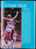 Basketball Collectibles:Publications, 1979 Indiana State University Yearbook with Larry Bird.. ...
