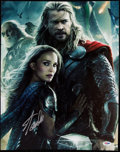 "Autographs:Photos, Stan Lee Signed ""Thor: The Dark World"" Poster.. ..."