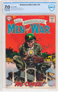 Silver Age (1956-1969):War, All-American Men of War #62 (DC, 1958) CBCS FN/VF 7.0 Off-white to white pages....