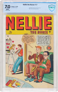 Golden Age (1938-1955):Romance, Nellie the Nurse #17 (Timely/Marvel, 1949) CBCS FN/VF 7.0 Whitepages....