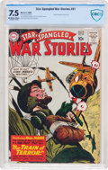 Silver Age (1956-1969):War, Star Spangled War Stories #91 (DC, 1960) CBCS VF- 7.5 Off-white to white pages....