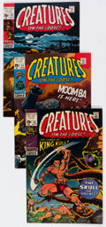 Bronze Age (1970-1979):Horror, Creatures on the Loose #10-36 Near-Complete Series Group (Marvel, 1971-75) Condition: Average VF-.... (Total: 27 Comic Books)