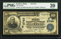 National Bank Notes:Maine, Houlton, ME - $10 1902 Plain Back Fr. 624 The First NB Ch. #(N)2749. ...