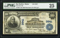 National Bank Notes:Maine, Bar Harbor, ME - $10 1902 Plain Back Fr. 626 The First NB Ch. #3941. ...