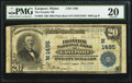 National Bank Notes:Maine, Eastport, ME - $20 1902 Plain Back Fr. 650 The Frontier NB Ch. #(N)1495. ...
