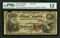 National Bank Notes:Maine, Norway, ME - $10 1882 Brown Back Fr. 485 The Norway NB Ch. # 1956....