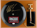 Autographs:Others, Mike Tyson Signed Bell. . ...