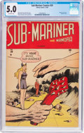 Golden Age (1938-1955):Superhero, Sub-Mariner Comics #29 (Timely, 1948) CGC VG/FN 5.0 Off-white pages....