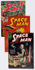 Silver Age (1956-1969):Science Fiction, Space Man Near-Complete Series Group of 9 (Dell, 1962-72)Condition: Average FN+.... (Total: 9 Comic Books)