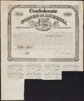 Confederate Notes:Group Lots, Ball 266 Cr. 130AA $1000 Bond 1863;. Booklet - Civil War BearerBonds and The Rare Half Dollar of the Confederate States o...(Total: 2 items)