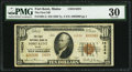 National Bank Notes:Maine, Fort Kent, ME - $10 1929 Ty. 2 The First NB Ch. # 14224. ...