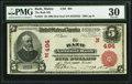 National Bank Notes:Maine, Bath, ME - $5 1902 Red Seal Fr. 587 The Bath NB Ch. # (N)494. ...