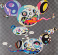 Prints & Multiples, Takashi Murakami (Japanese, b. 1962). Parallel Universe, 2014. Offset lithograph in colors on smooth wove paper. 26-3/4 ...
