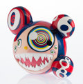 Fine Art - Sculpture, American:Contemporary (1950 to present), Takashi Murakami (Japanese, b. 1962). Mr. Dob (Red)(Original Edition), 2016. Painted cast vinyl. 9-1/4 x 10-3/4 inches...