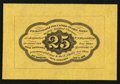 Fractional Currency:First Issue, Fr. 1282SP 25¢ First Issue Wide Margin Back About New.. ...