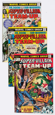 Super-Villain Team-Up Group of 15 (Marvel, 1975-77) Condition: Average VF.... (Total: 15 Comic Books)