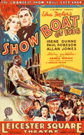 """Movie Posters:Musical, Show Boat (General Film Distribution, 1936). British Crown (12.5"""" X 20"""").. ..."""