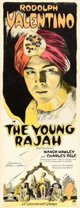 "Movie Posters:Drama, The Young Rajah (Paramount, 1922). Insert (14"" X 36"").. ..."