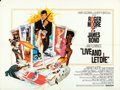 "Movie Posters:James Bond, Live and Let Die (United Artists, 1973). British Quad (30"" X 40"")Robert McGinnis Artwork.. ..."