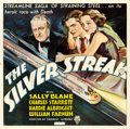 "Movie Posters:Action, The Silver Streak (RKO, 1934). Six Sheet (79.5"" X 79.5""). Action....."