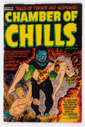 Golden Age (1938-1955):Horror, Chamber of Chills #11 (Harvey, 1952) Condition: VG-....