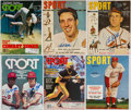 Autographs:Others, Signed SPORT Magazine Lot of 6.. ...