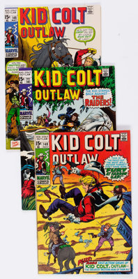 Kid Colt Outlaw and Others Group of 25 (Marvel, 1960s-70s) Condition: Average GD.... (Total: 25 Comic Books)