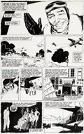 Original Comic Art:Panel Pages, Kyle Baker The Shadow Annual #2 Page 21 Original Art (DC, 1988)....