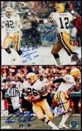 Autographs:Photos, Green Bay Packers Signed Photo Lot of 3. Including Lofton, Dickey,and Jefferson.. ...
