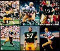 Autographs:Photos, 1967 Super Bowl II Champion Green Bay Packers Signed Photo Lot of16. Including Thurston, Kramer, and others.. ...