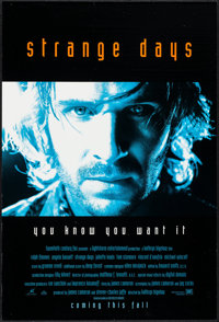 """Strange Days & Others Lot (20th Century Fox, 1995). One Sheets (3) (27"""" X 41"""") DS Advance. Action. ... (To..."""