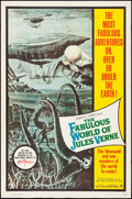 "Movie Posters:Fantasy, The Fabulous World of Jules Verne (Warner Brothers, 1961). One Sheet (27"" X 41""). Fantasy.. ..."