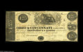 Obsoletes By State:Ohio, Cincinnati, OH- Ohio & Cincinnati Loan Office $1.25 March 23,1840 Wolka 0577-02 An extremely rare odd denomination example...