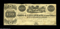 Obsoletes By State:Ohio, Cincinnati, OH- Ohio & Cincinnati Loan Office $1.50 March 23,1840 Wolka 0577-03 A nice Fine-Very Fine example of this ...