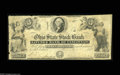 Obsoletes By State:Ohio, Cincinnati, OH- Ohio State Stock Bank Savings Bank of Cincinnati $3Oct. 15, 1851 Wolka 0619-03 An extremely scarce $3 note...