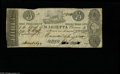 Obsoletes By State:Ohio, Marietta, OH- Bank of Marietta $3 Jan. 4, 1840 C34 Wolka 1559-23There is a bit of ink erosion at the President's signature...