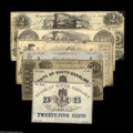 Obsoletes By State:Mixed States, SC & TN Tango including Columbia, SC- Keatinge & Ball 50¢ Mar. 15, 1864 Sheheen 932 VG (Charleston, SC)- Bank of... (7 notes)