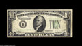 Error Notes:Inverted Reverses, Fr. 2006-B $10 1934A Inverted Reverse Federal Reserve Note.Fine-Very Fine. A nice early invert....