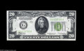 Error Notes:Inverted Reverses, Fr. 2054-G $20 1934 Inverted Reverse Federal Reserve Note. ChoiceCrisp Uncirculated. As nice an early invert as we've had t...