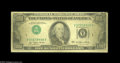 Error Notes:Inverted Third Printings, Fr. 2168-A $100 1977 Federal Reserve Note. Very Good. Invertedthird printing errors are quite scarce on the $100 denominati...