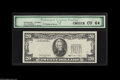 Error Notes:Third Printing on Reverse, Fr. 2077-D $20 1990 Federal Reserve Note. PCG Choice CU 64. The third printing is missing from the face but will be found on...