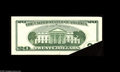 Error Notes:Foldovers, Fr. 2087-D $20 2001 Federal Reserve Note. Choice-Gem CU. Adramatic, large foldover is found on this $20....