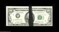 Error Notes:Ink Smears, Fr. 2168-G $100 1977 Federal Reserve Note. Choice CrispUncirculated. The best ink smear errors on the face of a note areth...