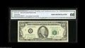 Error Notes:Miscellaneous Errors, Fr. 2171-B $100 1985 Federal Reserve Note. CGA Gem Uncirculated 66.The reverse is double printed, with two impressions bear...