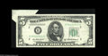 Error Notes:Error Group Lots, Two Large Butterfly Notes. Fr. 1963-B $5 1950B Federal ReserveNote. XF Fr. 2020-B $10 1969B Federal Reserve Note. AU. Bo... (2notes)