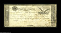 """Large Size:War of 1812, Fr. TN-15a Hessler X83B $5 March 25, 1815 """"Act of February 24, 1815"""" Treasury Note Extremely Fine, CC. This is a plate lett..."""
