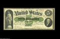 Large Size:Demand Notes, Fr. 3 $5 1861 Demand Note Choice Fine. A solid Boston Demand Note,with strong hand signatures, excellent color and a scatt...